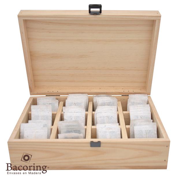 Cajas de madera dise os especiales bacoring ltda - Cajas de madera para regalo ...